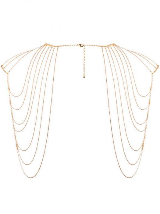 Ozdobné řetízky na ramena Magnifique Gold, zlaté