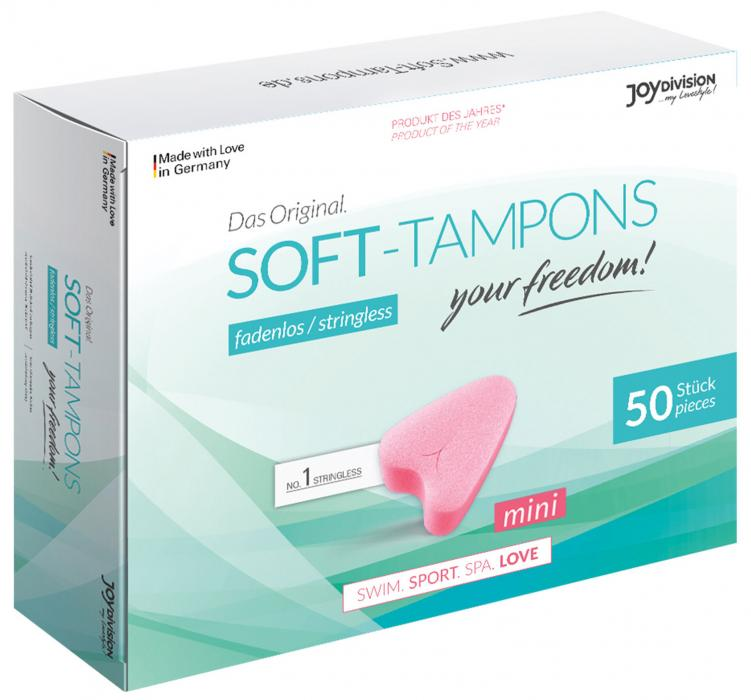 Menstruační houbička Soft-Tampons MINI, 50 ks