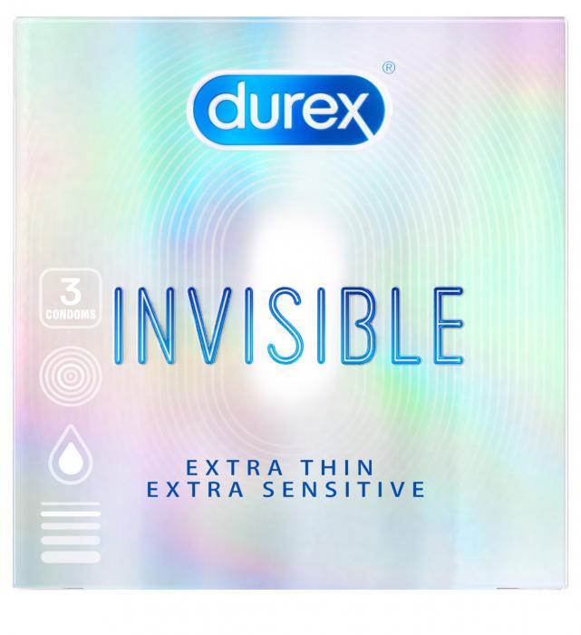 Kondomy Durex Invisible Extra Thin Extra Sensitive