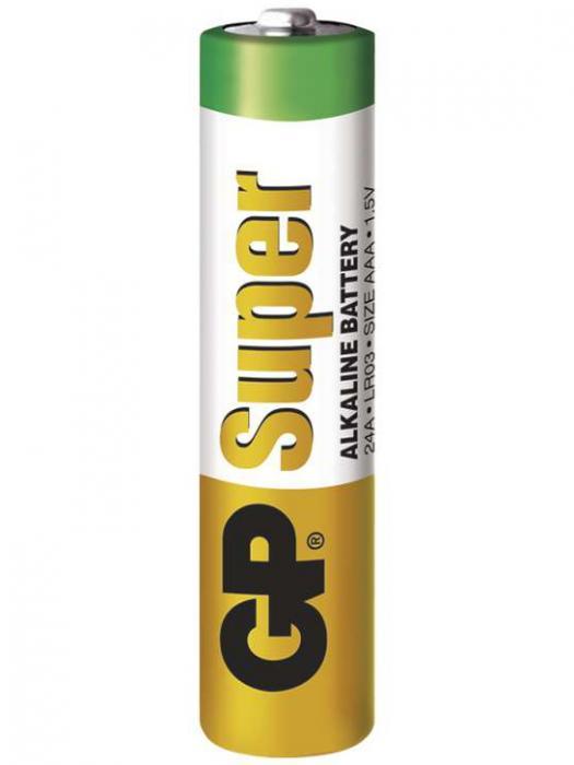 Baterie AAA GP alkalická
